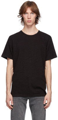 Rag & Bone Black Classic Flame T-Shirt
