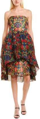 Anna Sui Kaleidoscope Sheath Dress