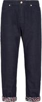 Marni Cropped low-rise boyfriend jeans