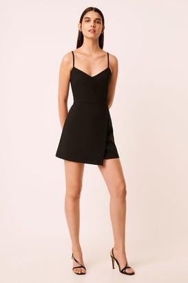 French Connenction Whisper Envelope Skirt Dress