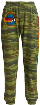 Aviator Nation Camo Fleece Joggers