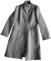 Malo Grey Wool Coat for Women