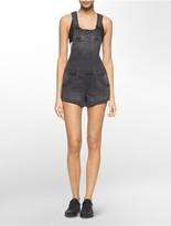 Calvin Klein Denim Overall Shorts