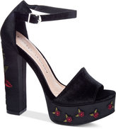 Chinese Laundry Ariana Embroidered Platform Sandals