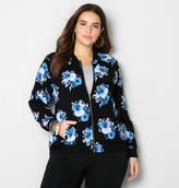 Avenue Floral Bomber Jacket
