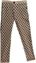 Kontatto Dots Herringbone Pants
