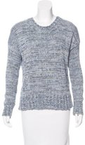 L'Agence Mélange Knit Sweater