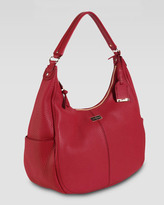Cole Haan Village Rounded Hobo Bag, Red
