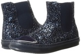Armani Junior Glitter High Top Sneakers Girl's Shoes