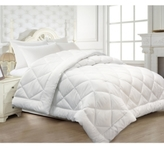 Blue Ridge Microfiber Seersucker Quilted Down-Alternative Full/Queen Comforter