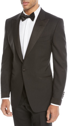 Tom Ford Grosgrain Peak-Lapel Tuxedo
