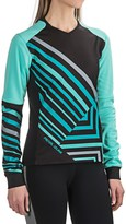 Pearl Izumi Launch Thermal Cycling Jersey - Long Sleeve (For Women)
