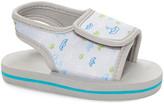 Revo Boys' Sandals Lt - Light Gray & Blue Boats Swim Sandal - Boys