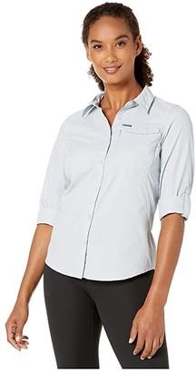 Columbia Silver Ridgetm 2.0 Long Sleeve Shirt (Cirrus Grey) Women's Long Sleeve Button Up