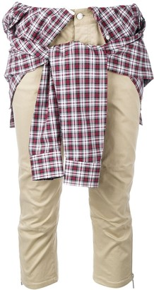 DSQUARED2 Shirt Wrap Trousers