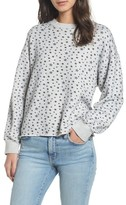 Current/Elliott Women's The Slouchy Crop Sweatshirt