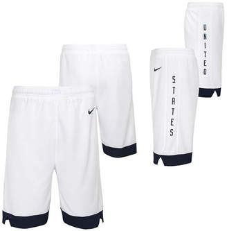 Nike Big Boys Usa Home Swingman Shorts