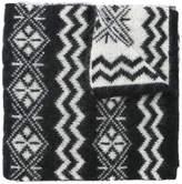 Moncler patterned scarf