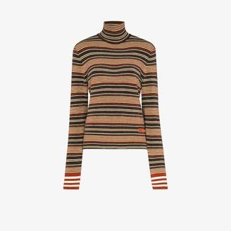 adidas X Wales Bonner striped turtleneck sweater