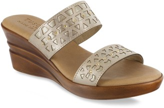 Easy Street Shoes Rosalie Tuscany Women's Wedge Sandals