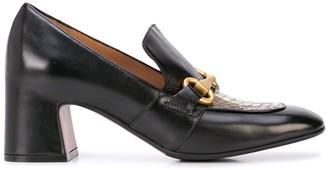 Madison.Maison Snakeskin Embossed Loafers