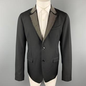 Alexander McQueen Black Wool Suits