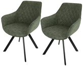 Lumisource Outlaw Industrial Dining Chairs (Set of 2)