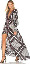 Jens Pirate Booty Flamenco Maxi Dress