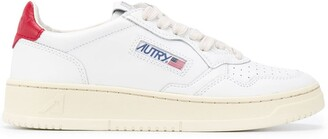 AUTRY Contrasting Heel Sneakers