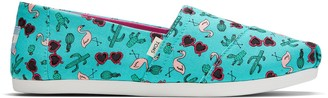 Toms Flamingo Party Print Women's Classics
