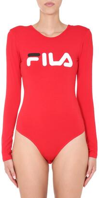 Fila Logo Print Yulia Bodysuit