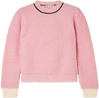 Marni Wool-blend Fleece Sweater