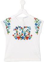 Dolce & Gabbana floral Majolica print T-shirt