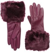 Ted Baker Women's Emree Faux Fur Cuff Gloves