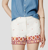 "LOFT Petite Fiesta Riviera Shorts with 3 1/2"" Inseam"