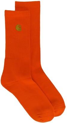 Carhartt Wip Logo Ribbed Socks