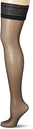 Fiore Women's Volta/Sensual Hold-up Stockings, 20 DEN,(Size: 2)