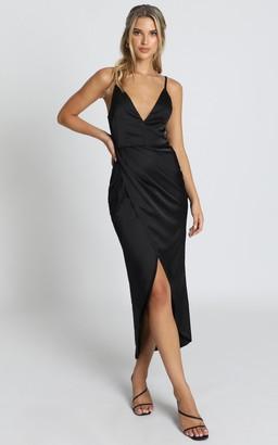 Showpo Shes A Dreamer Dress in black - 6 (XS) Bridesmaid