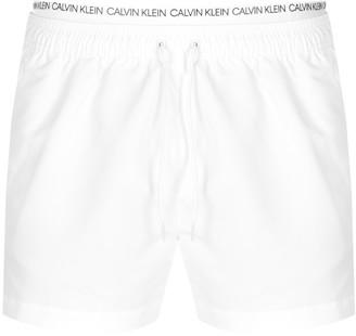 Calvin Klein Swim Shorts White