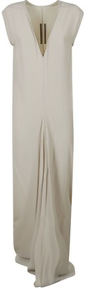 Rick Owens V-neck Long Dress