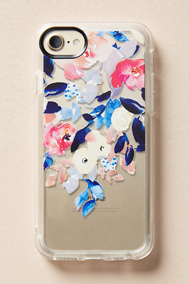Casetify Waterfall Floral iPhone Case By in Blue Size S