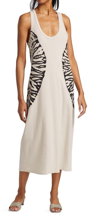 Thumbnail for your product : Raquel Allegra Tank Midi Dress