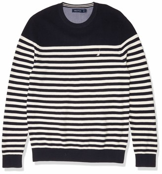 Nautica Men's Stripe Knit Sweater