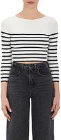 Alexander Wang Women's Striped Crop Sweater