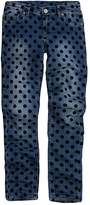 Levi's Levis Girls 7-16 Polka-Dot Skinny Jeans