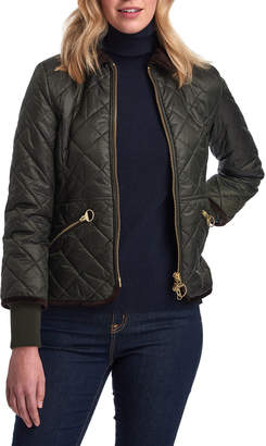 Barbour Liddesdale Box-Quilt Fitted Jacket