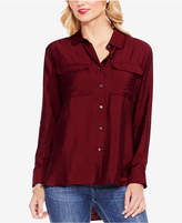 Vince Camuto Flowy Button-Front Shirt