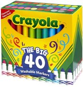Crayola 40 ct Broad Line Ultra-Clean Washable Markers