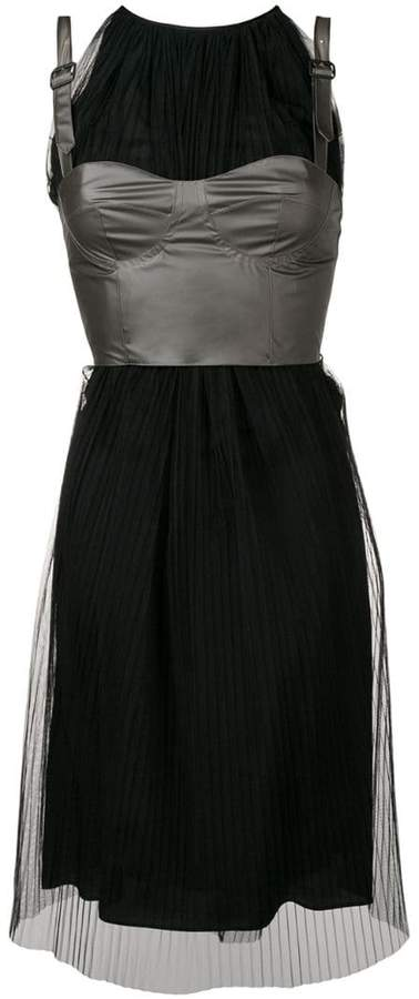 Maison Margiela corset midi dress
