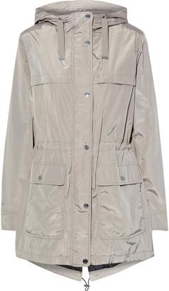 DKNY Shell Hooded Raincoat